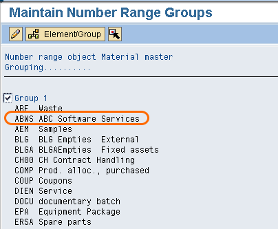 Define Number Ranges for Material Types in SAP - SAP Tutorials